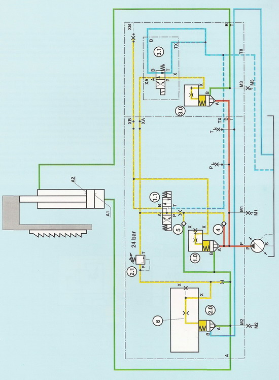 система управления вертикального станка