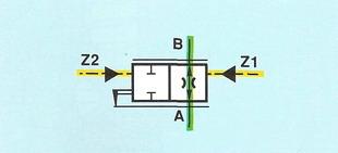 Условное обозначение по стандарту DIN ISO 1219