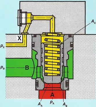 2-линейный встроеный клапан
