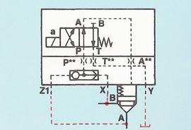 Крышка с установленным в ней переключающим клапаном