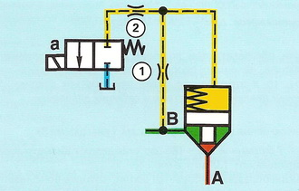 Схема пассивного управления